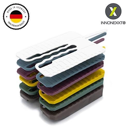 INNONEXXT® Premium Abstandshalter mit Montagehilfe | 60 x 45 mm, 300 Stück | Unterlegplatten, Abstandhalter, Distanzhalter | Set: 1, 2, 3, 4, 5, 10 mm