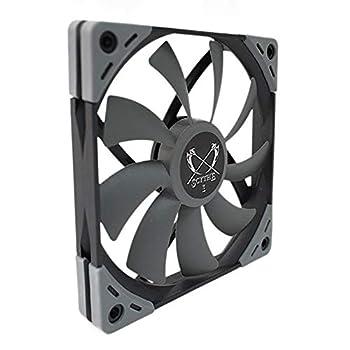 Scythe Kaze Flex 120mm Slim Fan PWM 300-1200RPM Quiet Case/CPU Cooler Fan Single Pack