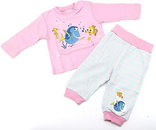 heimtexland Disney Baby Hausanzug in rosa Gr. 62-68 Schlafanzug Findet Nemo Dorie Mädchen Pyjama 2-teilig 100% Baumwolle hautfreundlich Ökotex geprüft Typ512