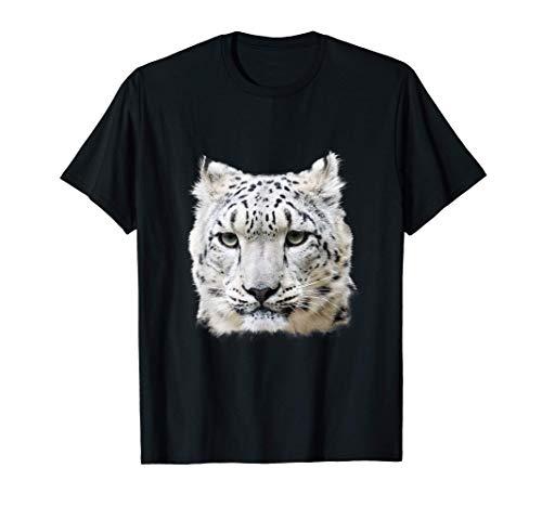 Schneeleopard Leopard Großkatze Geschenk T-Shirt
