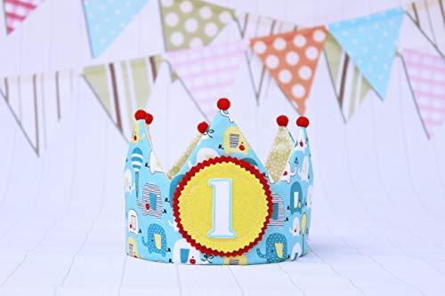 Stoffkrone für Babys und Kinderparty-Dekoration