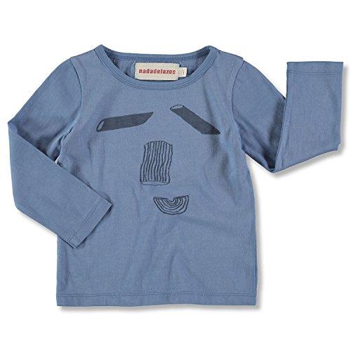 nadadelazos Tee Mr. Pasta T-Shirt, Bleu, 18-24 Mois Bébé garçon