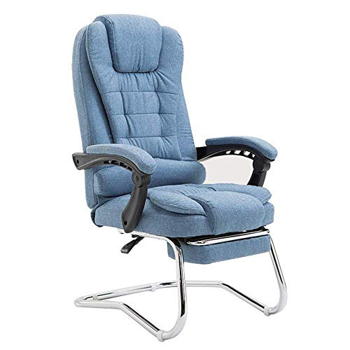 N/Z Home Equipment Swivel Chair Swivel Fabric Home Office Task Chair with Arms and Adjustable Height Suitable Ergonomic Executive Office Chair