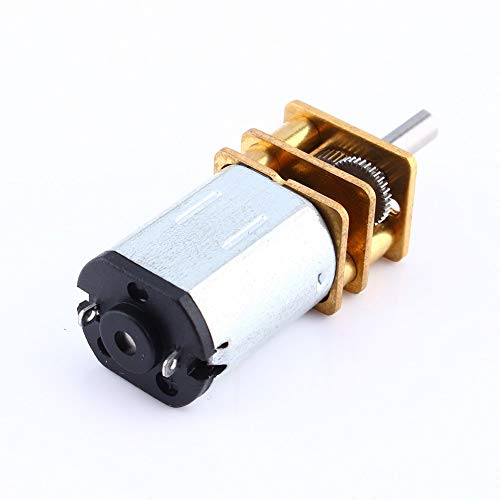 L-Yune,bolt 1pc 12GA DC 6V 50 RPM Miniatura Reduction Electric Motor de...