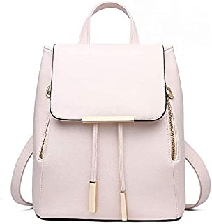 women Faux Leather casual backpack multi-function travel - schoolbag B2701