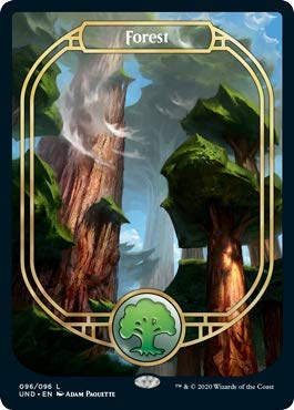 Magic: The Gathering - Forest (Full Art) - Unsanctioned