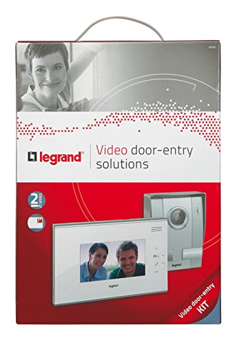 Preisvergleich Produktbild Farbvideo-Gegensprechanlage,  7 Zoll Bildschirm,  Weiß