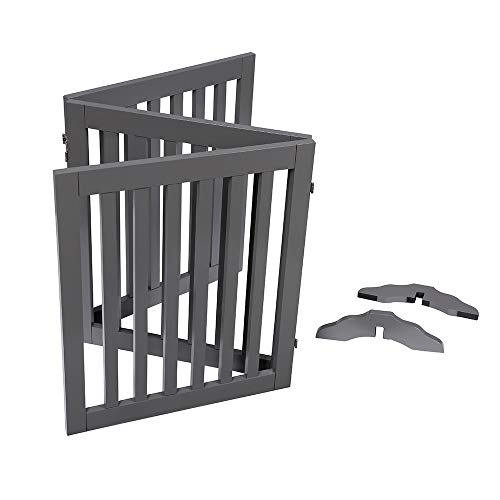 Unipaws Free Standing Walk Over Dog Gate