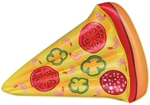 NLRHH Plegable Piscina, Agua colchón Inflable, Modelo de Pizza Fila Flotante Inflable, Juguetes inflables, Juguetes de Playa Hinchable de Seguridad del Partido Peng