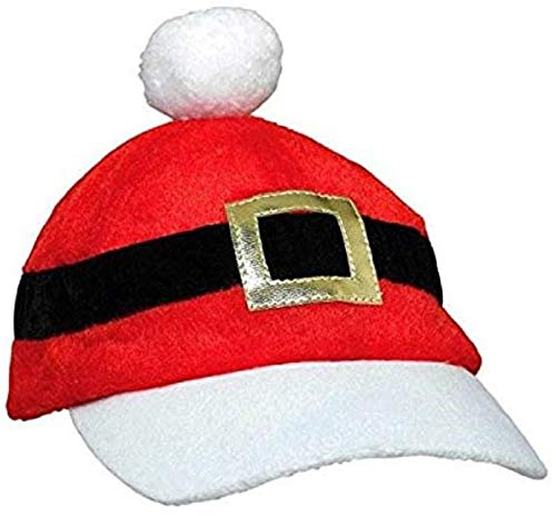 amscan 394995 Santa Baseball Fabric Hat Costume