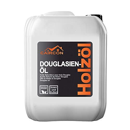 CAIRCON Douglasien Öl Terrassenöl Gartenholzöl Holzöl Pflege-öl Lärchenöl - 5L