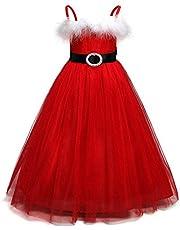 Sallydream Vestido Niña Niño Niños Bebés Niñas Tutú Princesa Navidad Trajes Ropa Vestido