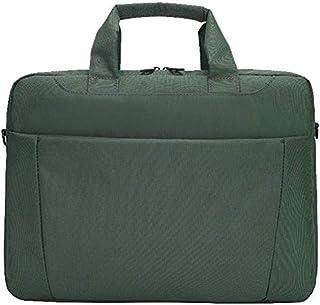 """Waterproof Laptop Bag Messenger Bag Shoulder Bag Shockproof Thick Nylon 13"""" / 14"""" Briefcase Messenger Bag with Handle and Shoulder Strap (Color : Red, Size : 14"""") Elise (Color : Green, Size : 14"""")"""