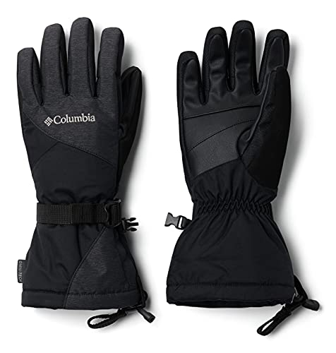 Columbia W Whirlibird Guantes De Esquí, Mujer, Black, L
