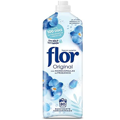Flor Original - Suavizante concentrado para la ropa, aroma Original