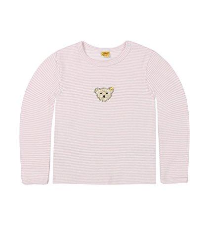 Steiff Steiff Unisex - Baby Langarmshirt 1/1 Arm, Rosa (Barely Pink 2560), 62 (Herstellergröße: 62)