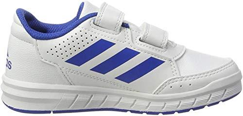 adidas Unisex-Erwachsene AltaSport CF Fitnessschuhe, Weiß (Ftwbla/Azul/Ftwbla 000), 40 EU