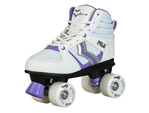 Patins Quad Fila Verve Lady Feminino Fila Skates mulheres BRANCO 39