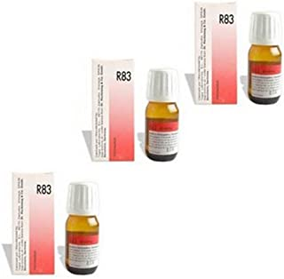 3 Pack X Dr. Reckeweg-Germany R83- Food Allergy Drops. --
