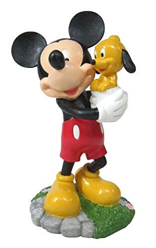 Design International Group LDG88913 Garden Statue, 12 by 8-Inch, Mickey and Puppy Pluto 2014