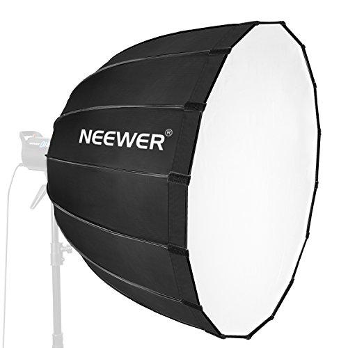 Neewer 90cmポ折りたたみ式ソフトボックス ボーエンスマウント付き スピードライト用