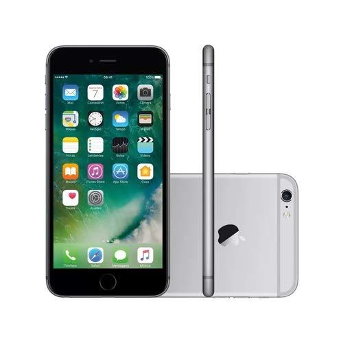 "IPhone 6S, Apple, DESBLOQUEADO 128 GB, 4.7"", cor Cinza ORIGINAL SEMI NOVO NA CAIXA"