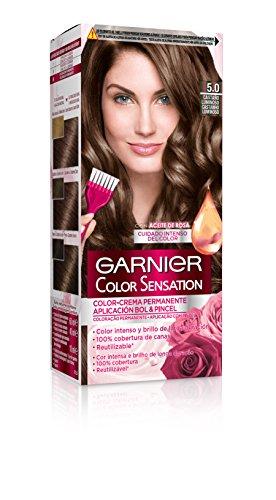 Garnier Color Sensation Coloración nº5.0 Castaño Luminoso de Garnier