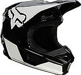 Fox V1 Revn Helmet Black/White L
