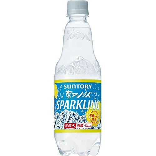 サントリー 南アルプス スパークリングレモン 炭酸水 無糖0cal 500ml×24本