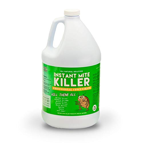 Instant Mite Killer - Destroy Spider Mites, Broad Mites, Powdery Mildew, and More, Professional Super Concentrate (Makes 128 Gallons)