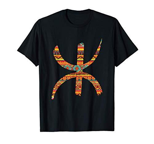 Yaz Kabyle Amazigh Berbère Rétro tifinagh T-Shirt