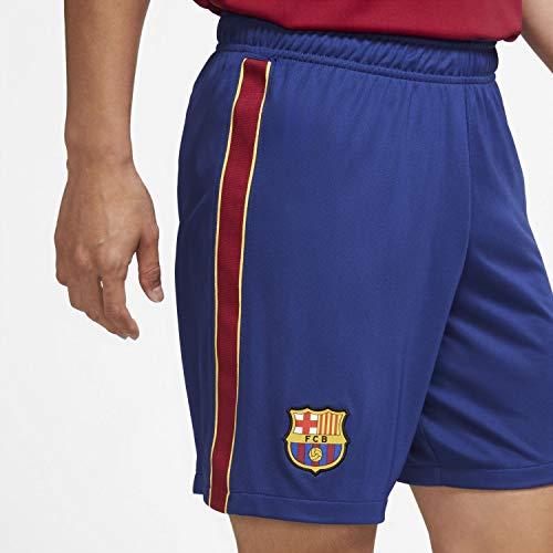 Nike Herren Shorts FC Barcelona Stadium, Deep Royal Blue/Varsity Maize, L, CD4281-455