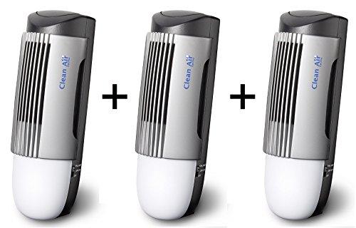 ¡Pack Ahorro! - 3 Purificadores de aire con ionizador CLEAN AIR OPTIMA CA-267