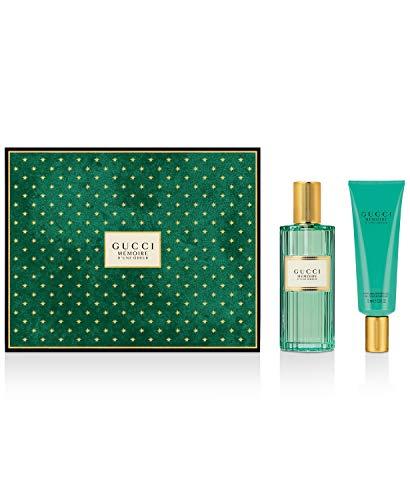 Gucci Memoire d'une Odeur set 100ml EDP Eau de Parfum Spray & 75ml Duschgel