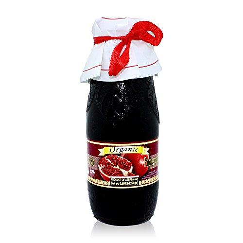 Pow Organic Pomegranate Molasses 10.2 Oz Glass Bottle