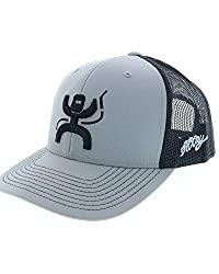 commercial HOOEY Men's Gray Arc Welding Embroidery Baseball Cap Gray One Size welders for cheap