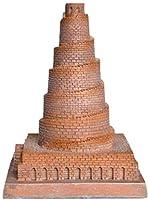 クラフト装飾品イラク塔のバベル像樹脂の手工芸品彫刻イラクのミニチュア古代の建物のお土産の小さなモデルの家の装飾
