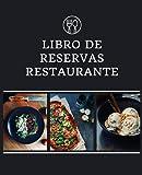 libro de reservas restaurante: Hosteleria, Organizador para las reservas de mesas o espacios. Diseñado para restaurantes, bares, establecimientos o ... 2021-2022 Formato largo, Planificador Diario