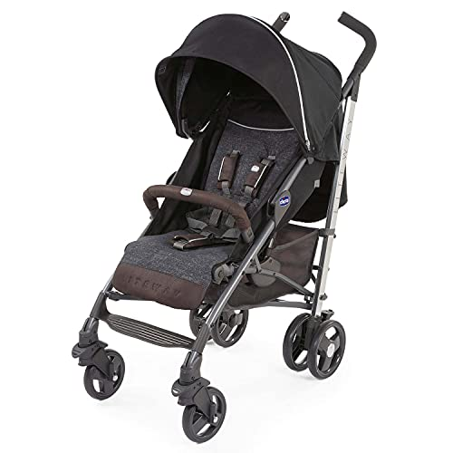 chicco Lightweight Stroller Liteway Intrigue with Extra Large Hood Suitable from Birth up to 22kg