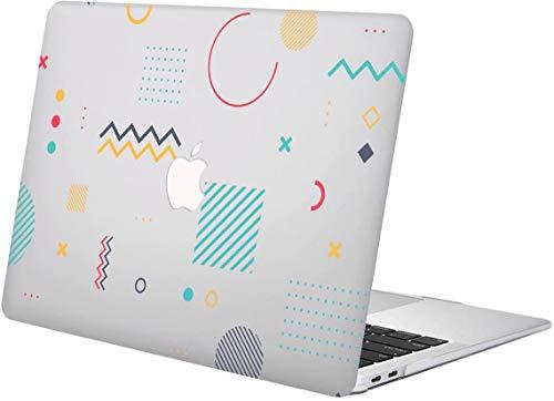"""ACJYX MacBook Pro 15 Pouces Coque 2015 2014 2013 2012 Version A1398 Coque De Protection en Plastique Motif Ordinateur Portable Coque Rigide pour MacBook Pro 15"""" avec Ecran Retina, Géométrique"""
