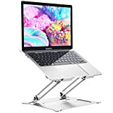 """Laptop Stand for Desk, Adjustable Aluminum Laptop Holder Ergonomic Computer Stand Notebook Riser Compatible with 11-17.3"""" Laps MacBook Pro Air, Dell, Chromebook, Thinkpad by FURNINXS"""