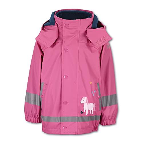 Sterntaler Mädchen Regenjacke Pony mit Innenjacke, Pink, 128*