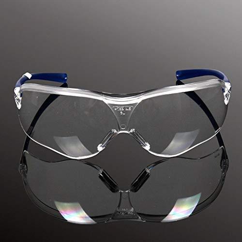 MZY1188 Gafas de Seguridad para Exteriores, Gafas Anti-Impacto a Prueba de Polvo de Viento, Gafas de protección para los Ojos de Seguridad en el Trabajo de Laboratorio de fábrica Anti-Impacto