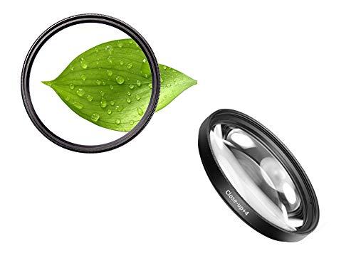 62 mm + 4 close-up filters macrolens close-up closeup 62 mm dioptrieën