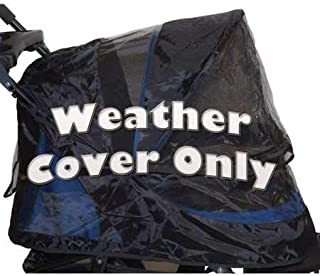Pet Gear Weather Cover for No-Zip Jogger