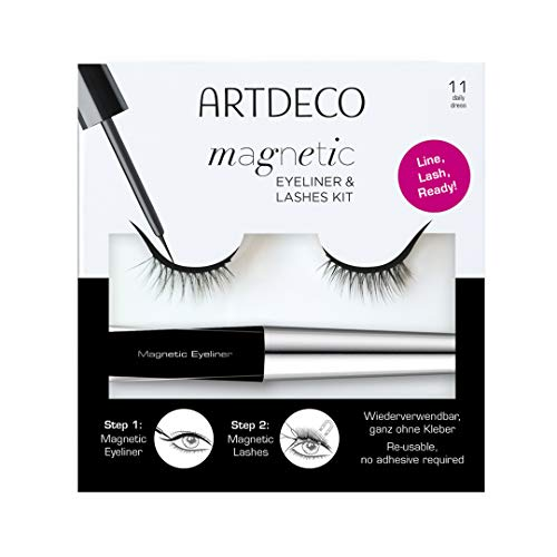 ARTDECO Magnetic Eyeliner & Lashes Kit, Künstliche Magnet-Wimpern, Nr.11, daily dress