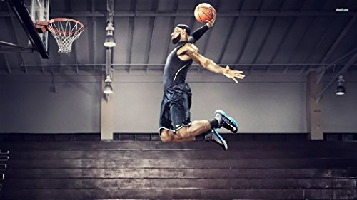 097 LeBron James 25x14 inch Silk Poster Seta Manifesto Aka Wallpaper Wall Decor By NeuHorris