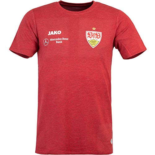 JAKO VfB Stuttgart Premium T-Shirt (L, red Melange)