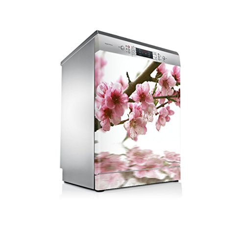 setecientosgramos Vinilo Lavavajillas | Stickers Dishwasher | Pegatina Lavavajillas | Flor de Cerezo