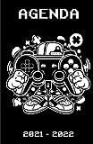 Agenda Scolaire 2021 / 2022: Planificateur Scolaire Journalier Août 2021 À Juillet 2022 | Etudiants Collège Et Lycée | Organiseur Gaming Garçons Manette Cartoon De Jeux Video